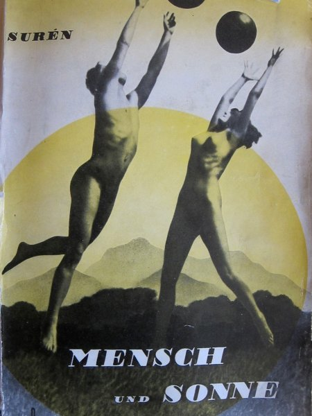Nazi Era Porn - The cover of the coffee table Nazi nudist book, Humans and Sun.