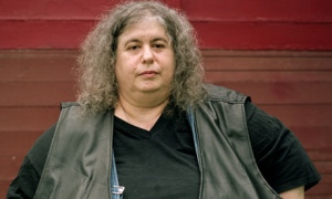 Andrea Dworkin, the literal personification of the man hating, anti-sex, anti-porn, old fashioned butch, witch feminist.