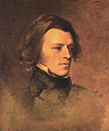 Tennyson in his younger days.
