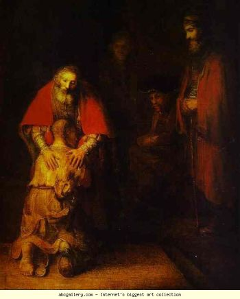 Rembrandt was a master of religious art.