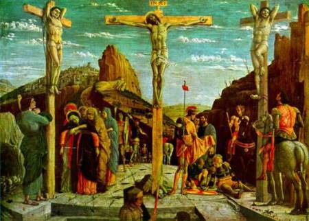 Good Friday, as depicted by Andrea Mantegna.