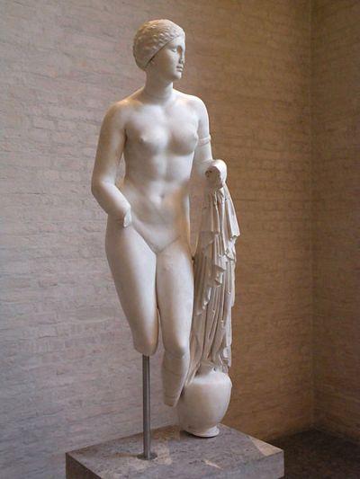 Aphrodite of Cnidus, a famous nude by Praxiteles.