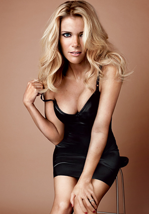 Megyn Kelly of Fox News, tempting all her family values male viewers...