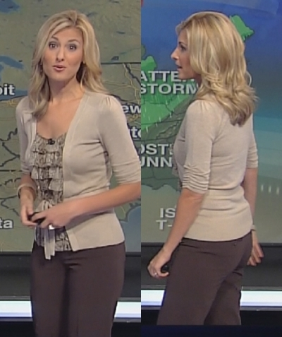 More weather babe hotness...