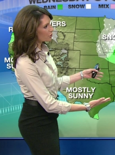 I can watch her forecast all day...