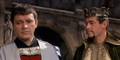 O'Toole and Richard Burton in Becket.