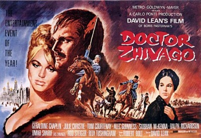 Dr. Zhivago, a great movie about love, war, political terror and art.