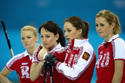 The Russian team was the hottest of them all...