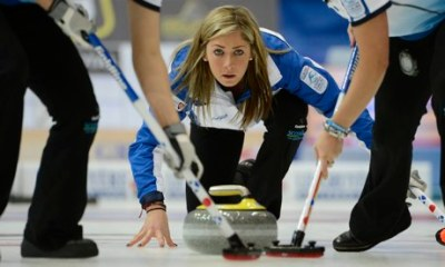 Curling, a strange sport with the hottest babes.