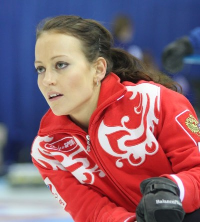 Katerina Galkina of the Russian team.