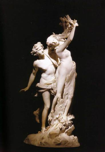 Apollo and Daphne, by the great Italian sculpture Bernini.