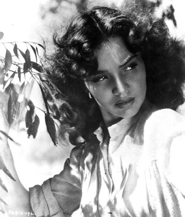 Jennifer Jones, in one of her more sultry roles in Duel in the Sun.