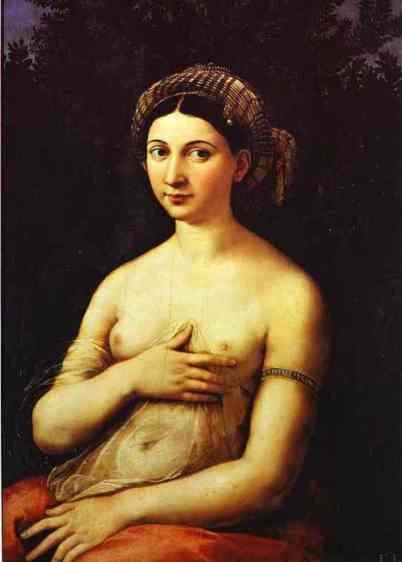 La Fornarina, by Raphael.