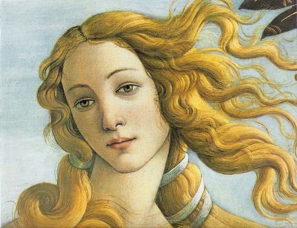 Botticelli captured an eternal beauty...