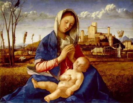 The Madonna of the Meadow, 1505.