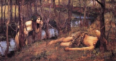 Another version of the Hylas story by Waterhouse.