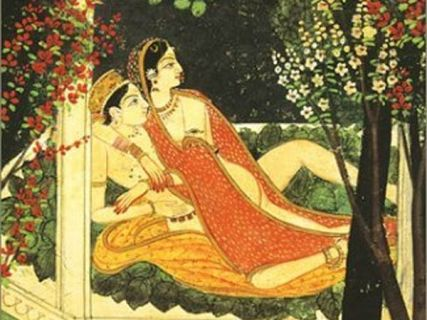 An illustration from the Kama Sutra.