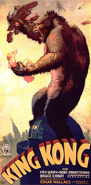 King Kong is often cited as a reflection of state of race relations of its time...