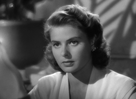 The lovely Ingrid Bergman
