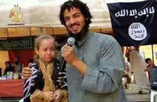 A anti-Trump muslim with recently purchased young bride. Diversity is beautiful!