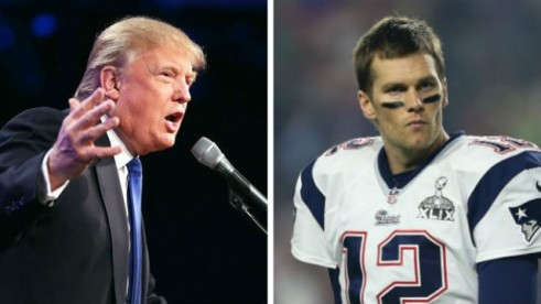 Trump and Brady are buddies...
