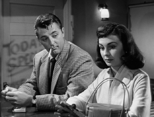 Mitchum and a noir dame.